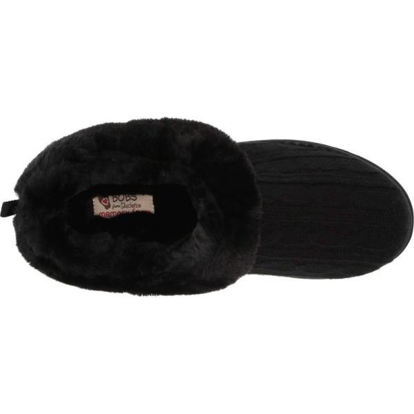 スケッチャーズ BOBS from SKECHERS レディース スリッパ シューズ・靴 Keepsakes - Ice Angel Black/Black