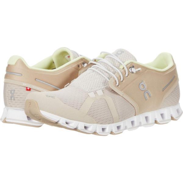 オン On レディース ランニング・ウォーキング シューズ・靴 Cloud 2.0 Sand/Pearl