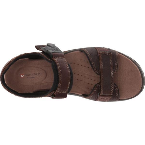 クラークス メンズ サンダル シューズ・靴 UnTrek Part Dark Tan Leather|fermart2-store|03