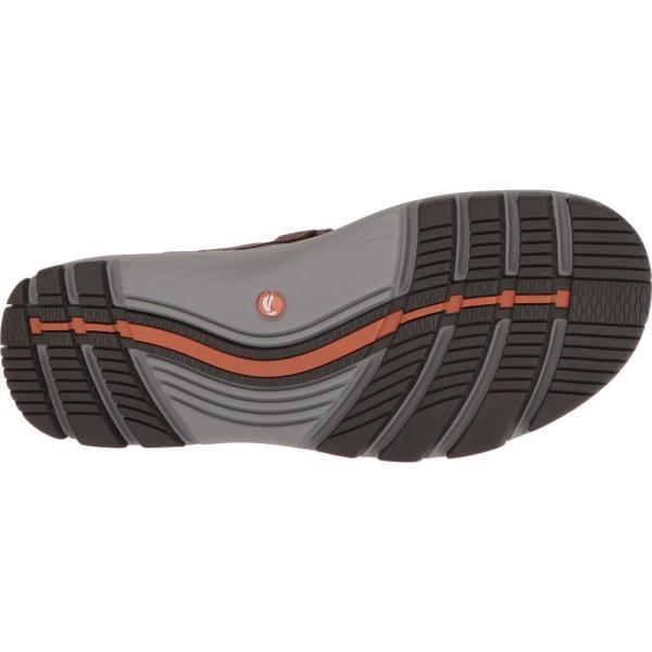 クラークス メンズ サンダル シューズ・靴 UnTrek Part Dark Tan Leather|fermart2-store|04
