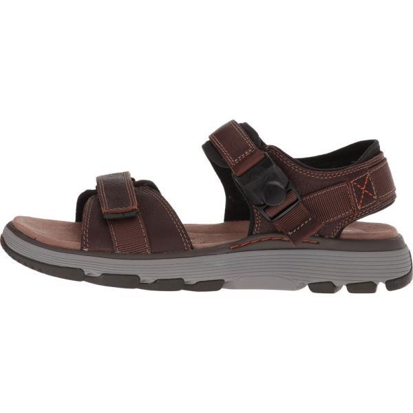 クラークス メンズ サンダル シューズ・靴 UnTrek Part Dark Tan Leather|fermart2-store|05