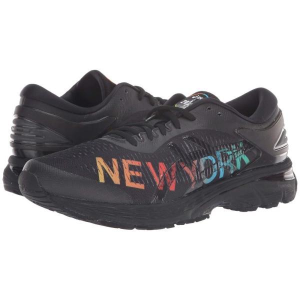 アシックス ASICS メンズ シューズ・靴 ランニング・ウォーキング GEL-Kayano 25 NYC Black/Black|fermart2-store