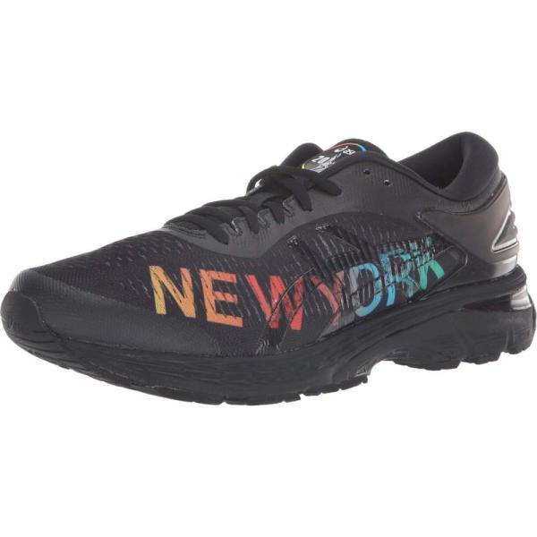 アシックス ASICS メンズ シューズ・靴 ランニング・ウォーキング GEL-Kayano 25 NYC Black/Black|fermart2-store|02