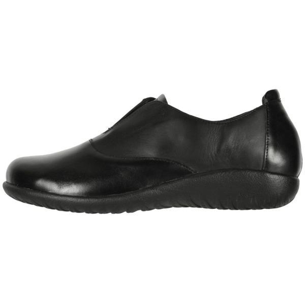 ナオト Naot レディース ローファー・オックスフォード シューズ・靴 Karo Black Madras Leather/Jet Black Leather