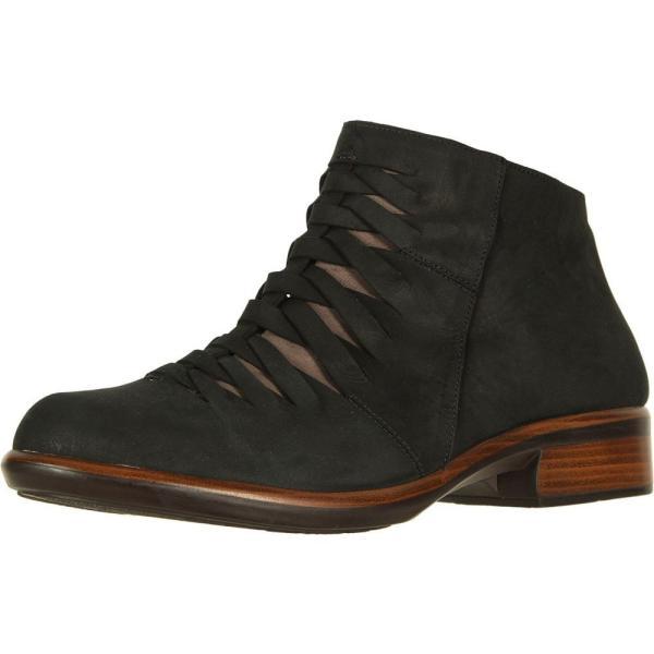 ナオト Naot レディース ブーツ シューズ・靴 Leveche Black Velvet Nubuck/Shiitake Nubuck
