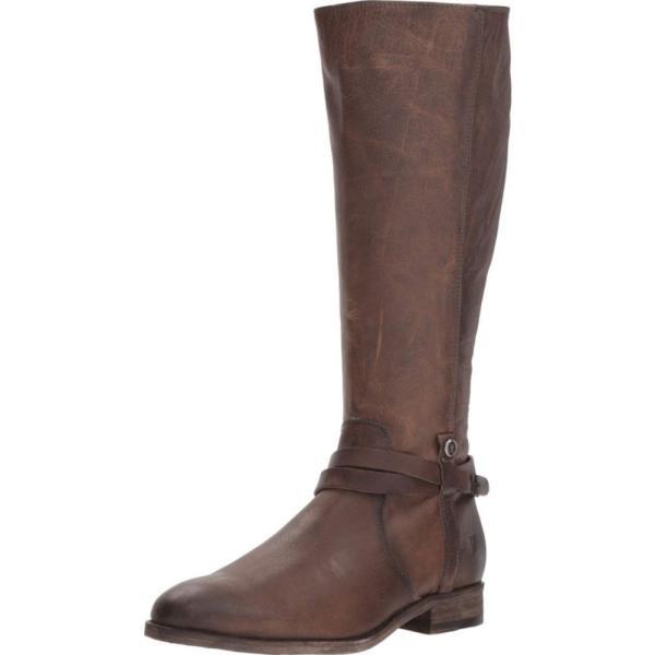 フライ Frye レディース ブーツ シューズ・靴 Melissa Belted Tall Stone Washed Oiled Vintage