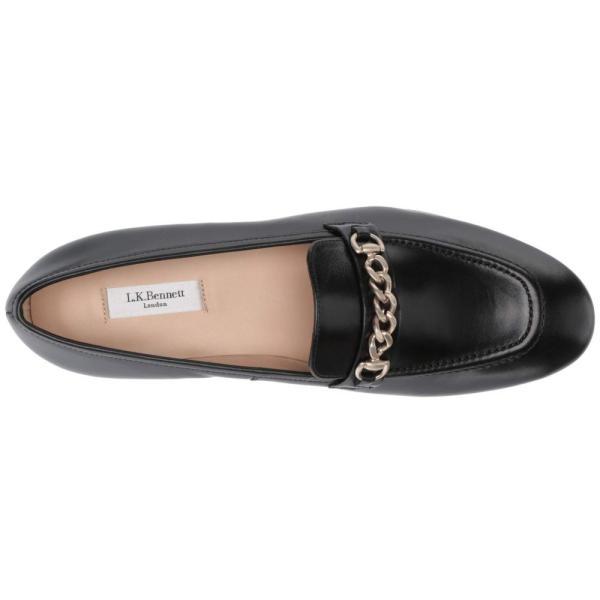 エルケーベネット L.K. Bennett レディース ローファー・オックスフォード シューズ・靴 Stevie Black Calf Leather