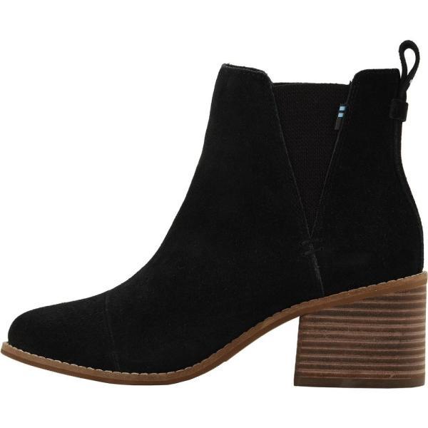 トムス TOMS レディース ブーツ シューズ・靴 Esme Black Suede|fermart2-store|05