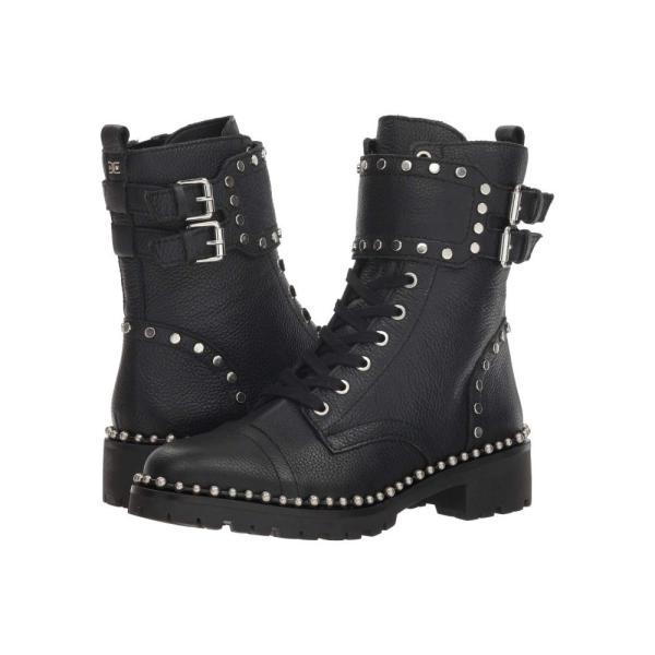 サム エデルマン Sam Edelman レディース ブーツ シューズ・靴 Jennifer Black Heavy Cancun Tumble Leather