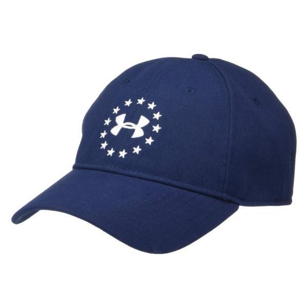 アンダーアーマー Under Armour メンズ 帽子 Freedom 2.0 Cap Academy/White|fermart2-store