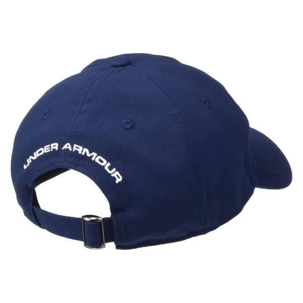 アンダーアーマー Under Armour メンズ 帽子 Freedom 2.0 Cap Academy/White|fermart2-store|03