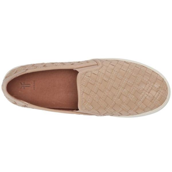 フライ Frye レディース スリッポン・フラット シューズ・靴 Lena Woven Slip-On Cream