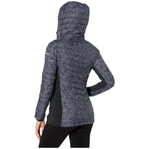 コロンビア Columbia レディース ジャケット アウター Powder Pass(TM) Hooded Jacket Black Edelweiss Print