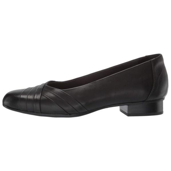 クラークス Clarks レディース スリッポン・フラット シューズ・靴 Juliet Petra Black Leather