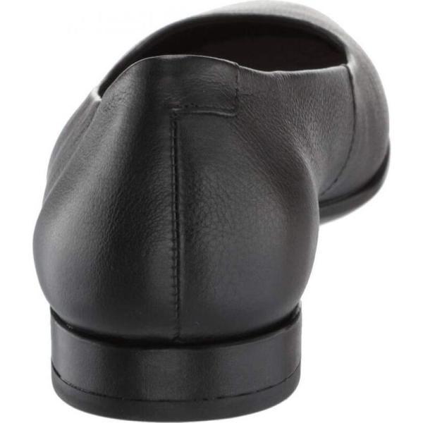 エコー ECCO レディース スリッポン・フラット シューズ・靴 Anine Ballerina Black Calf Leather