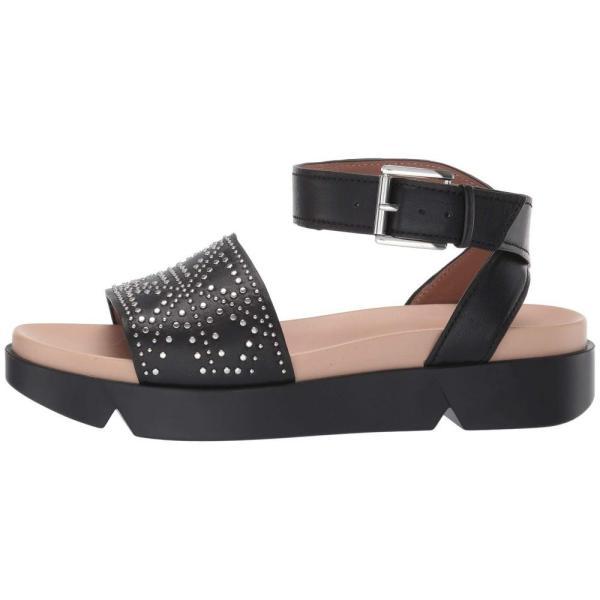 アルマーニ Emporio Armani レディース サンダル・ミュール シューズ・靴 Studded Platform Sandal Black