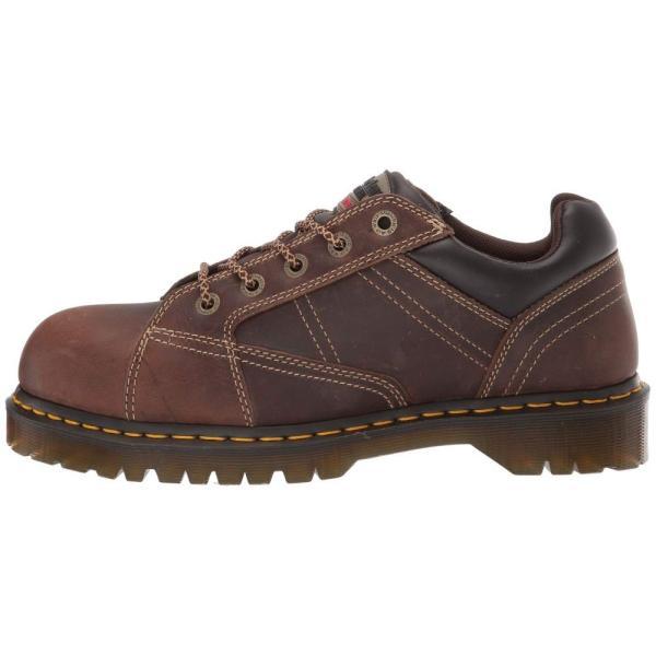 ドクターマーチン Dr. Martens Work レディース ローファー・オックスフォード シューズ・靴 Wrest Steel Toe EH Aztec/Dark Brown