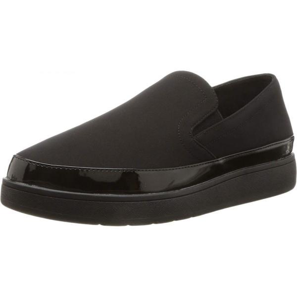 ドナルド ジェイ プリナー Donald J Pliner レディース ローファー・オックスフォード シューズ・靴 Meg Black Crepe Elastic