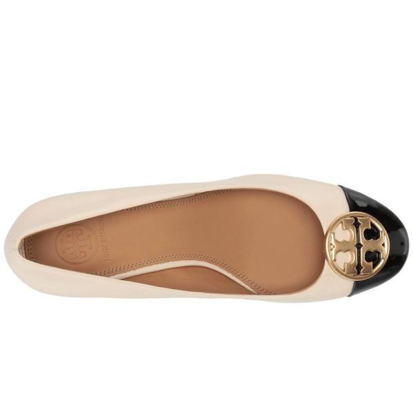 トリー バーチ Tory Burch レディース パンプス シューズ・靴 50 mm Chelsea Cap-Toe Pump New Cream/Perfect Black