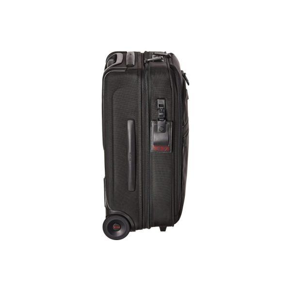 トゥミ Tumi レディース スーツケース・キャリーバッグ バッグ Alpha 3 International Expandable 2 Wheeled Carry-On Black