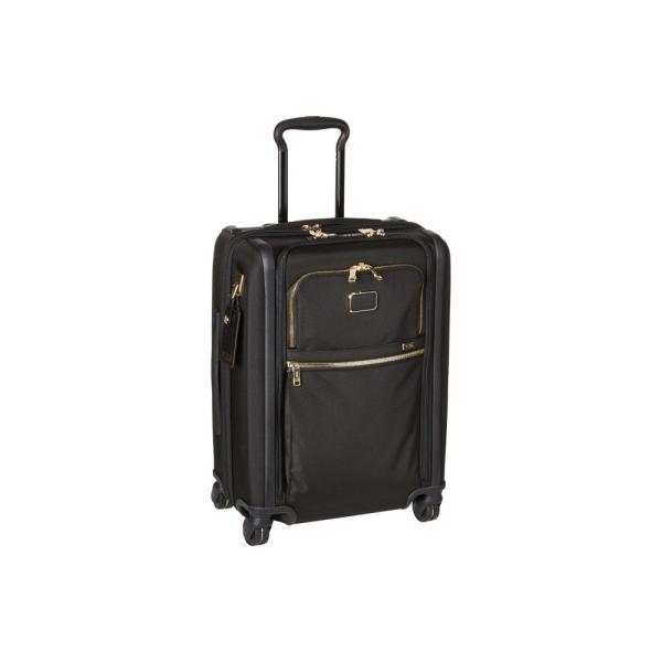 トゥミ Tumi レディース スーツケース・キャリーバッグ バッグ Alpha 3 Continental Dual Access 4 Wheeled Carry-On Black/Gold