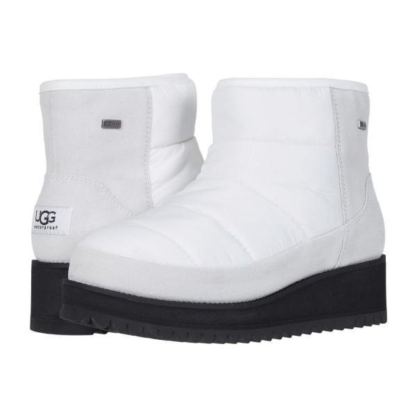 アグ UGG レディース ブーツ シューズ・靴 Ridge Mini White