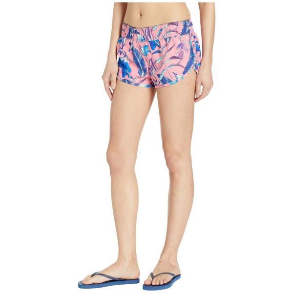 ハーレー Hurley レディース ボトムのみ 水着・ビーチウェア Supersuede Floral Board Shorts Pink Gaze|fermart2-store|02