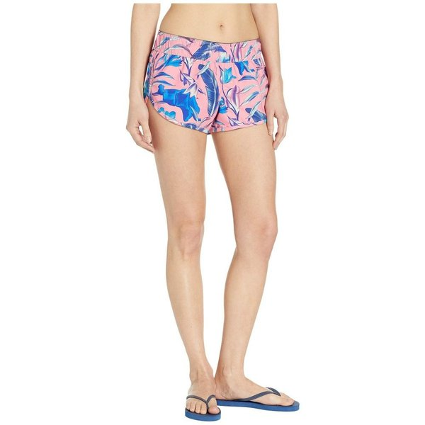 ハーレー Hurley レディース ボトムのみ 水着・ビーチウェア Supersuede Floral Board Shorts Pink Gaze|fermart2-store|04