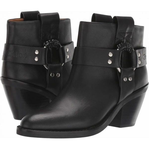 クロエ See by Chloe レディース ブーツ シューズ?靴 SB33025A Nero|fermart2-store|01