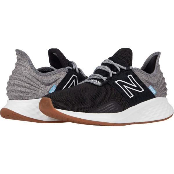 ニューバランス New Balance メンズ ランニング・ウォーキング Tシャツ シューズ・靴 Fresh Foam Roav Tee Shirt Black/Light Aluminum