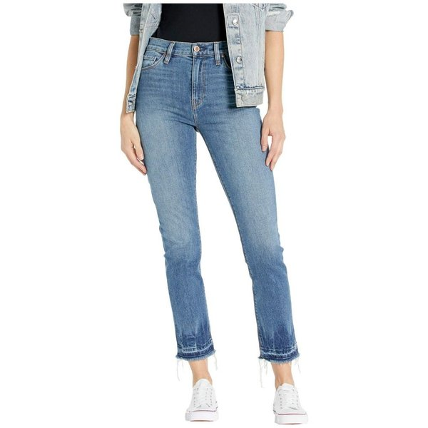 Hudson Jeans Womens Holly High Rise Crop Flare 5 Pocket Jean