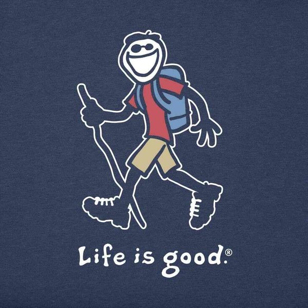 ライフイズグッド Life is Good メンズ Tシャツ 2点セット トップス Hiking 2-Pack Tee Multi|fermart2-store|04