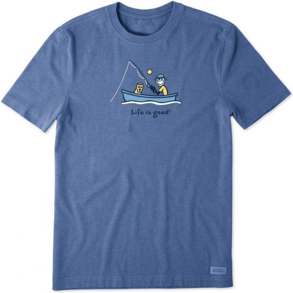 ライフイズグッド Life is Good メンズ Tシャツ 2点セット トップス Catch 2-Pack Tee Multi|fermart2-store