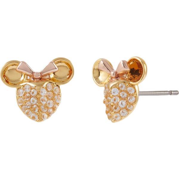 ケイト スペード Kate Spade New York レディース イヤリング・ピアス ジュエリー・アクセサリー Minnie Pave Studs Earrings Clear Multi