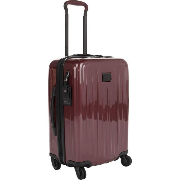 トゥミ Tumi レディース スーツケース・キャリーバッグ エクスパンダブル機能 バッグ V4 International Expandable 4 Wheeled Carry-On Cordovan