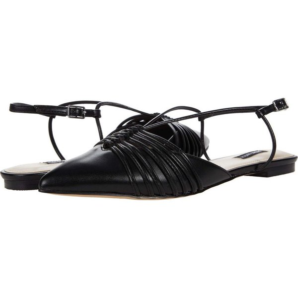 ナインウエスト Nine West レディース スリッポン・フラット シューズ・靴 Aida Black