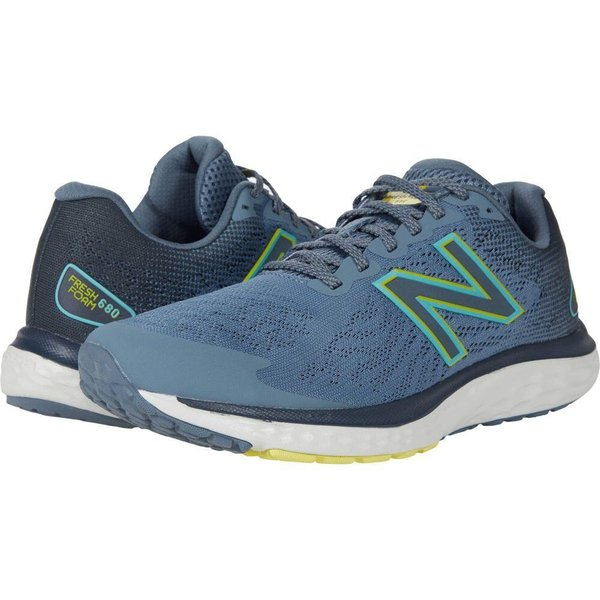 ニューバランス New Balance メンズ ランニング・ウォーキング シューズ・靴 Fresh Foam 680v7 Light Cyclone/Ocean Grey