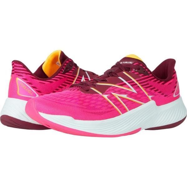 ニューバランス New Balance レディース ランニング・ウォーキング シューズ・靴 FuelCell Prism v2 Pink Glo/Garnet