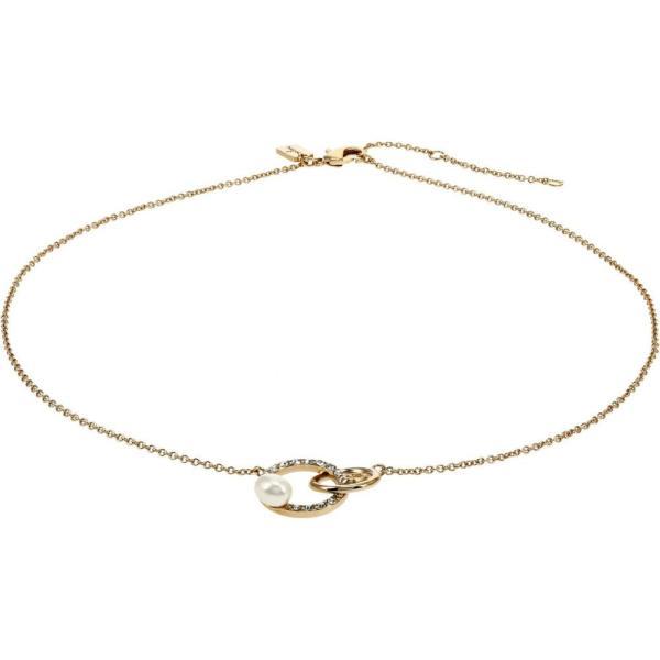 コーチ COACH レディース ネックレス ジュエリー・アクセサリー Pearl Interlock Pendant Necklace Pearl
