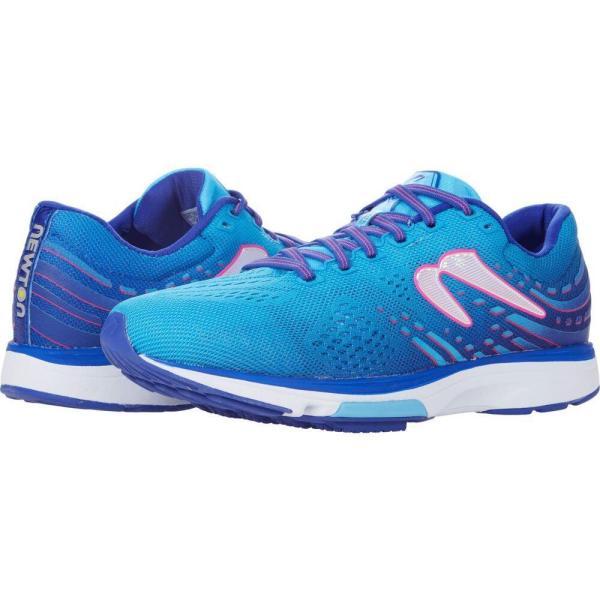 ニュートンランニング Newton Running レディース ランニング・ウォーキング シューズ・靴 Fate 7 Blue/Rhodamine