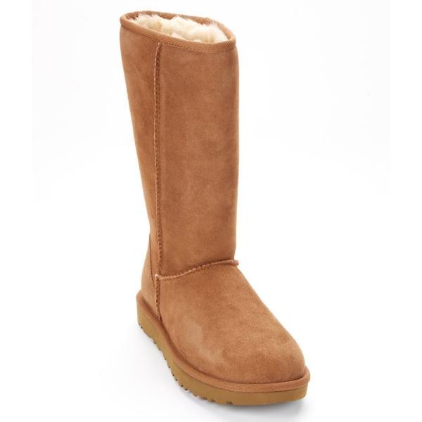 アグ レディース ブーツ シューズ・靴 UGG Classic Tall Boots II Chestnut