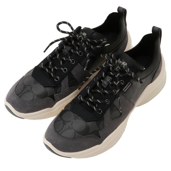 【即納】コーチ Coach メンズ スニーカー シューズ・靴 Citysole Runner CQBK シグニチャー シグネチャー g4940 fermart2-store