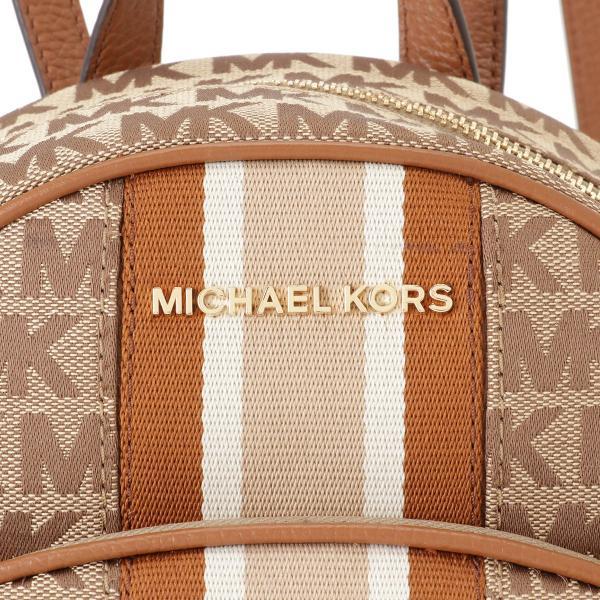 【即納】マイケル コース Michael Kors レディース バックパック・リュック バッグ ABBY 35F9GAYB6J BEIGE シグニチャー シグネチャー キャンバス|fermart2-store|05