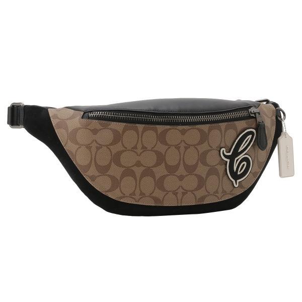 【即納】コーチ Coach メンズ ボディバッグ・ウエストポーチ バッグ Belt Bag QBTAL シグネチャー  ベルトバッグ F83282|fermart2-store