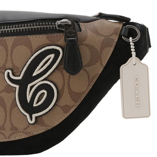 【即納】コーチ Coach メンズ ボディバッグ・ウエストポーチ バッグ Belt Bag QBTAL シグネチャー  ベルトバッグ F83282|fermart2-store|05