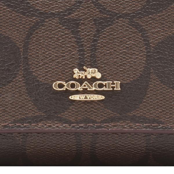 【即納】コーチ Coach レディース 財布 WALLET IML72 3つ折り ラウンドファスナー シグネチャー F41302|fermart2-store|06