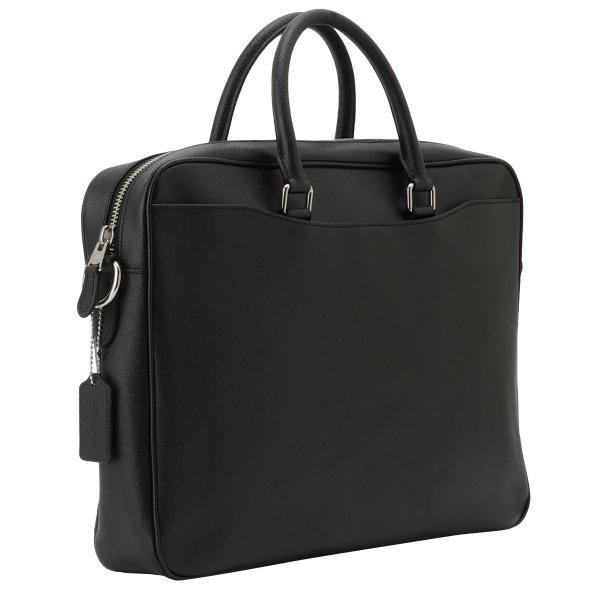 【即納】コーチ Coach メンズ ビジネスバッグ・ブリーフケース バッグ Leather Bag NIBLK 2way 通勤 F68030|fermart2-store|02