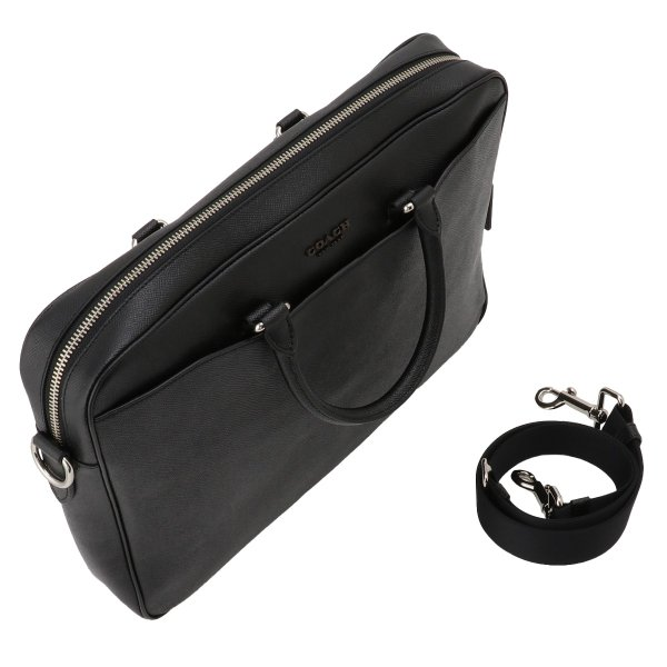 【即納】コーチ Coach メンズ ビジネスバッグ・ブリーフケース バッグ Leather Bag NIBLK 2way 通勤 F68030|fermart2-store|06