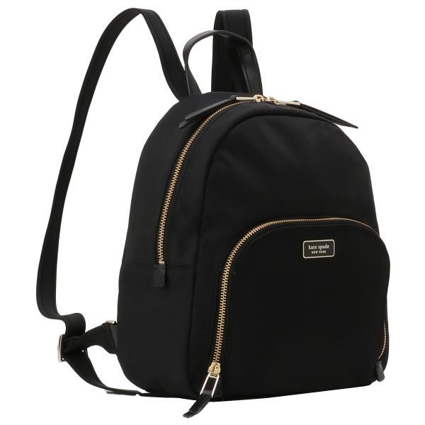 【即納】ケイト スペード Kate spade レディース バックパック・リュック バッグ Dawn Medium Backpack BLACK ロゴ スペード柄裏地 fermart2-store