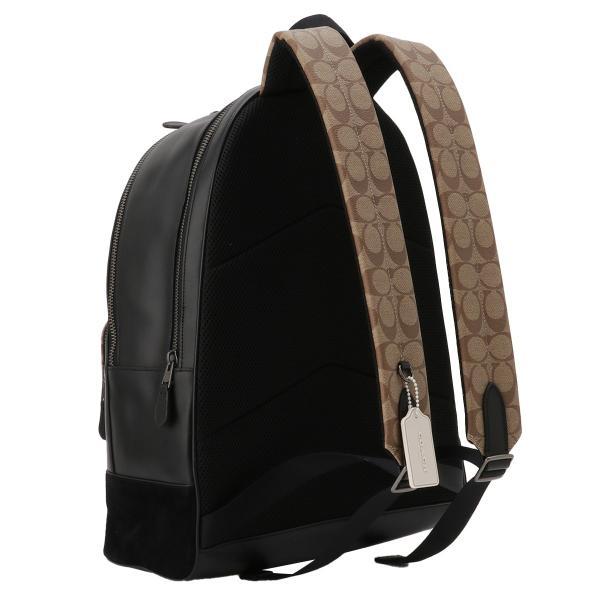 【即納】コーチ Coach ユニセックス バックパック・リュック バッグ Leather Backpack QBTAL シグネチャー F83287|fermart2-store|02